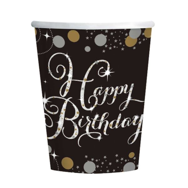 Gold Celebration Paper Cups